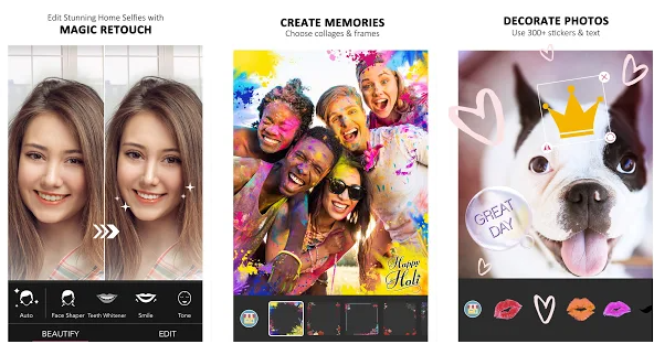 youcam perfect best selfie camera application for android