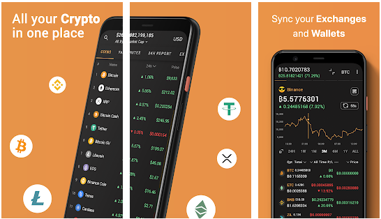 Coin Stats cryptocurrency apps for Android