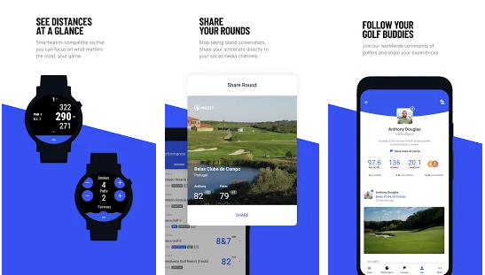 Hole19 golf range finder apps for android