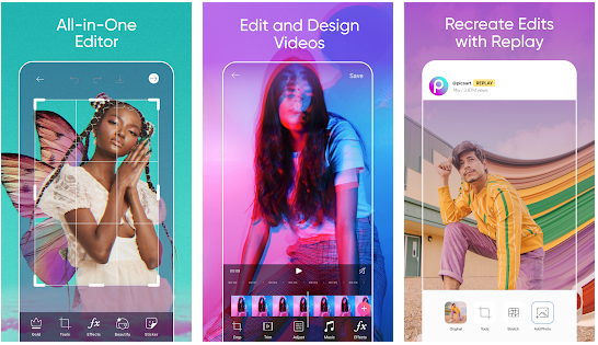 PicsArt YouTube intro on your phone 5 useful apps